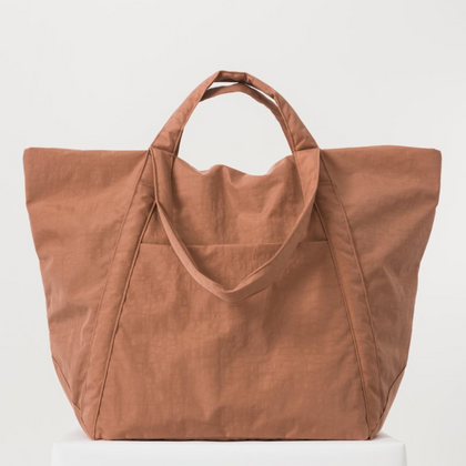 Baggu Travel Cloud Bag in Terracotta