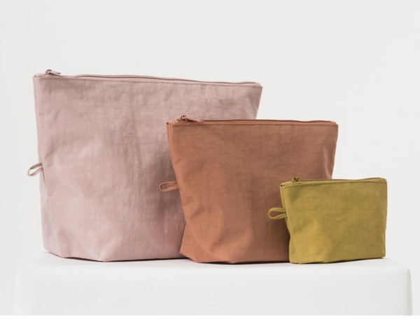 Baggu Go Pouch Set in Sunset