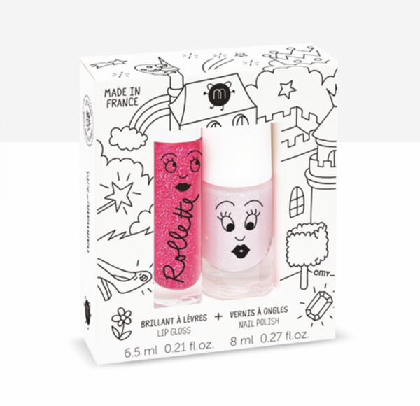 Nailmatic - Fairytales Raspberry Roulette & Nail Polish Kit