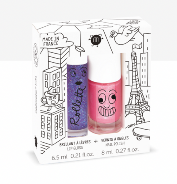 Lovely City - Lip Gloss and Nail Polish Set