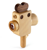 FF Super 8 Wooden Toy Camera with Kaleidoscope Lens