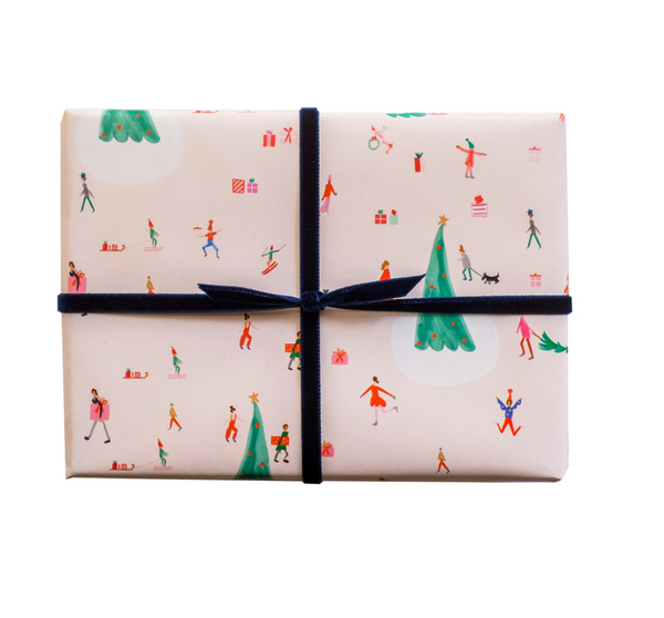 Mr. Boddington Christmas in Copenhagen Wrapping Paper