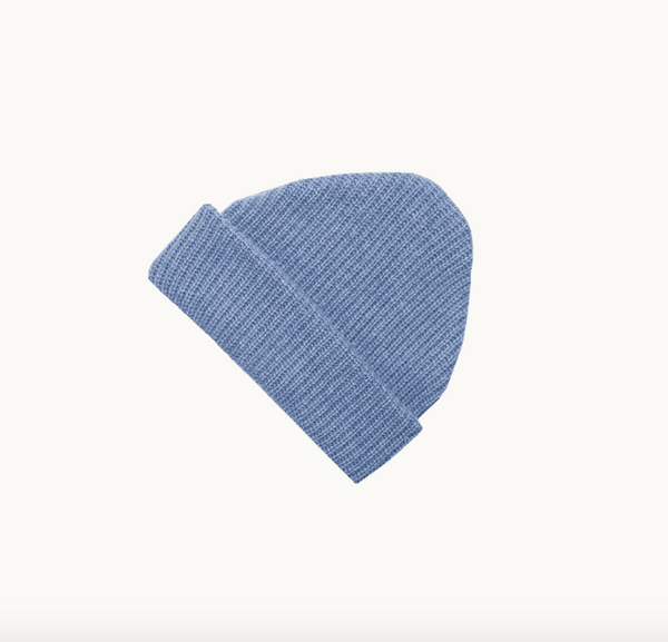 James Street Co -Adult Port Beanie in Denim Blue