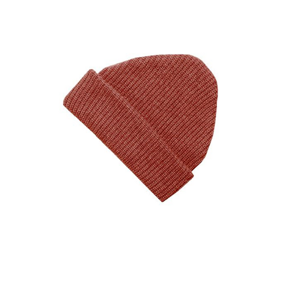 James Street Co -Adult Port Beanie in Burnt Sienna
