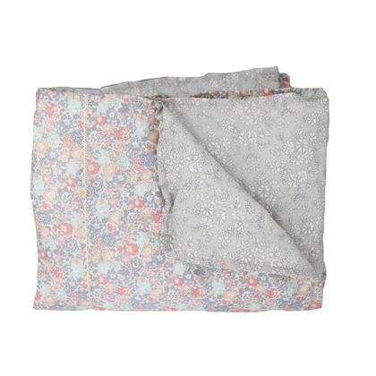 Coco & Wolf Liberty Print Heirloom Crib Quilt - Michelle Pink