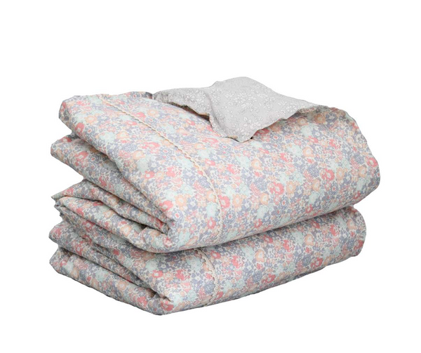 Coco & Wolf Liberty Print Heirloom Twin Quilt - Michelle Pink