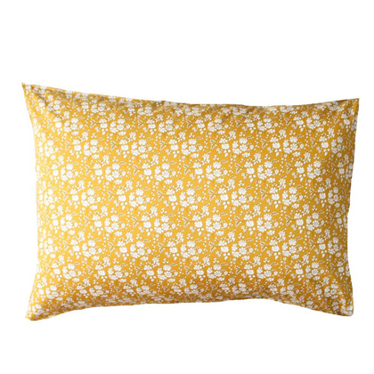 Coco & Wolf Liberty Print Pillow Case - Capel Mustard