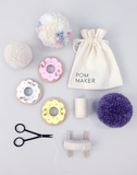 Moon Picnic Donut Pom Maker in Pink