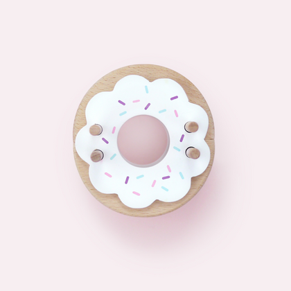 Moon Picnic Donut Pom Maker in Vanilla