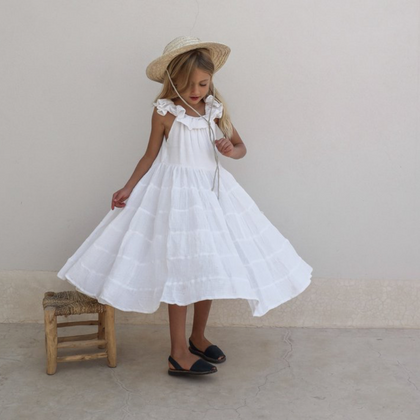 Yoli and Otis Launa Dress in White