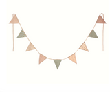 Maileg Rose Garland with 9 Pennants