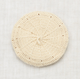 Misha and Puff Sand Dollar Beret in String