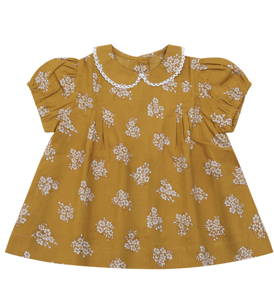 Little Cotton Clothes Mabel Blouse in Ginger Floral