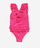 Louise Misha Bermuda Bathing Suit in Hot Pink