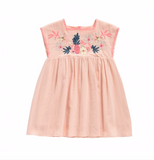 Louise Misha Summer Lagoon Dress in Blush