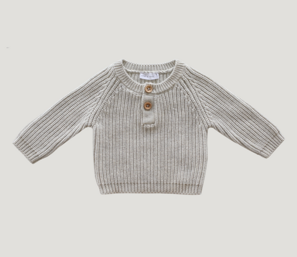 Jamie Kay Leo Knit in Oatmeal