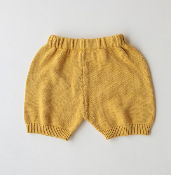 Summer & Storm Cotton Knit Short in Sunshine