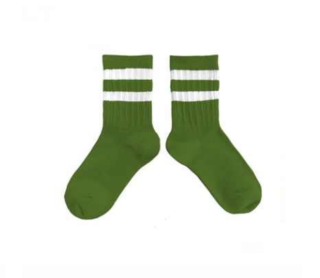 Collegien Nico Sport Socks - Green Grass