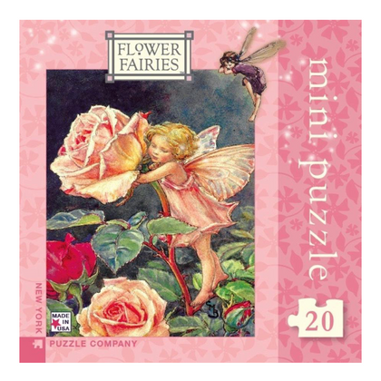 Flower Fairy Mini Puzzle  - Rose Fairy