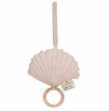 Konges Shell Music Toy  - Light Rose