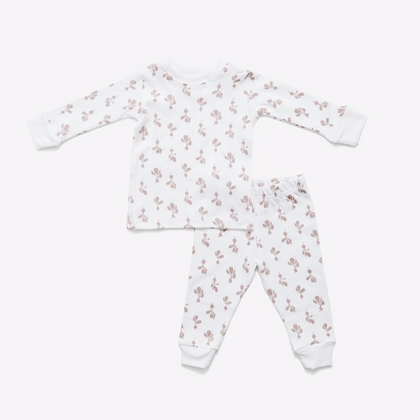 Lewis Pajama Set  - Mini Radish in Mauve