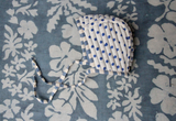 Bonjour Diary Quilted Baby Bonnet in Stripe/Dot