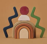 Raduga Grez Wooden Shapes Building Blocks