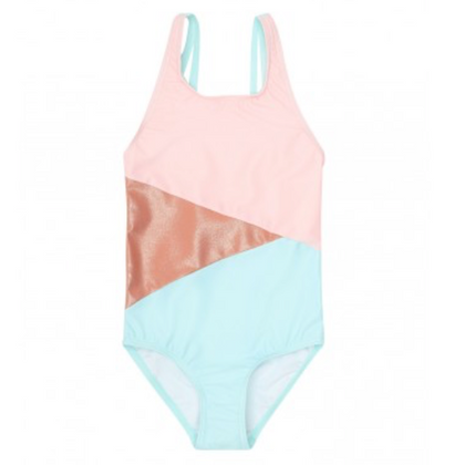 Soft Gallery Colorblock Swimsuit