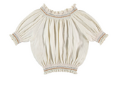 Liilu Smocked Blouse