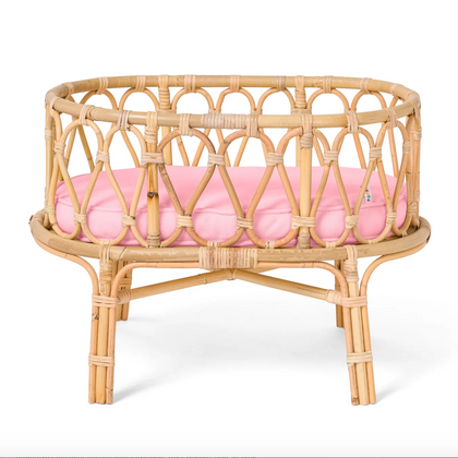 Poppie Toys: Poppie Crib in Pink