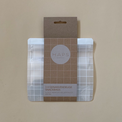 Haps NORDIC Small Reusable Snack Bags