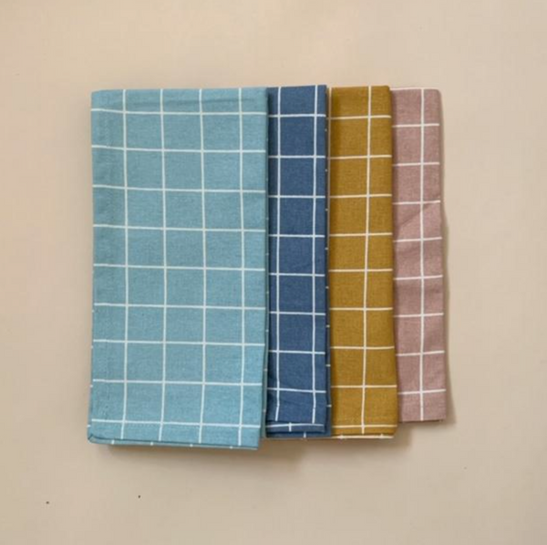 Haps NORDIC Napkin 4 Pack in Check