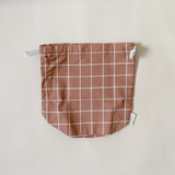 Haps NORDIC Small Bag - Terracotta Check