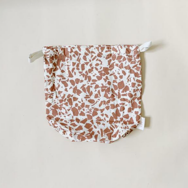Haps NORDIC Small Multi Bag in Terrazzo - Terracotta