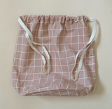 Haps NORDIC Large Bag -  Rose Check