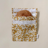 Haps NORDIC Sandwich Bag in Terrazzo - Rose, Mustard, Sky, Ocean, Terracotta, Grey