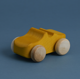 Raduga Grez Wooden Toy Car in Mustard