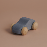 Raduga Grez Wooden Toy Car in Silver