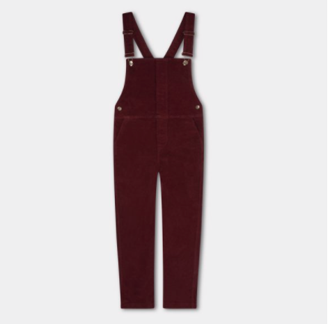 Repose AMS Dungaree in Warm Red