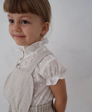 House of Paloma Odette Blouse in Fleur Blanc