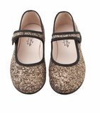 Tocoto Vintage Glittery Mary Janes