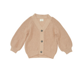 Bacabuche Oversized Pima Cotton Cardigan - Blush
