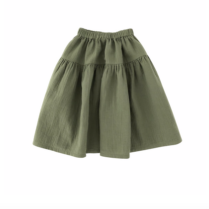 Liilu Dana Skirt in Olive