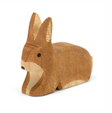 Ostheimer Wooden Rabbit Brown, Sitting