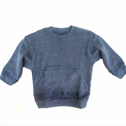 Nico Nico Tinley Heather Pullover in Blue
