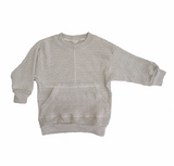 Nico Nico Tinley Heather Pullover in Grey