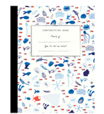 Mr. Boddington Composition Book - Underwater Garden