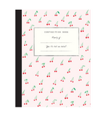 Mr. Boddington Composition Book - Cherries