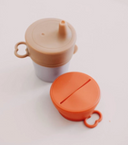 Dove and Dovelet Silicon Sippy/Snack Lid in Autumn