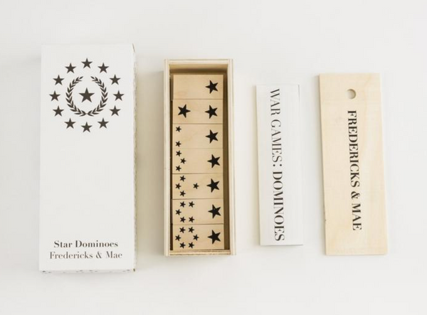 Fredericks and Mae Star Domino Set